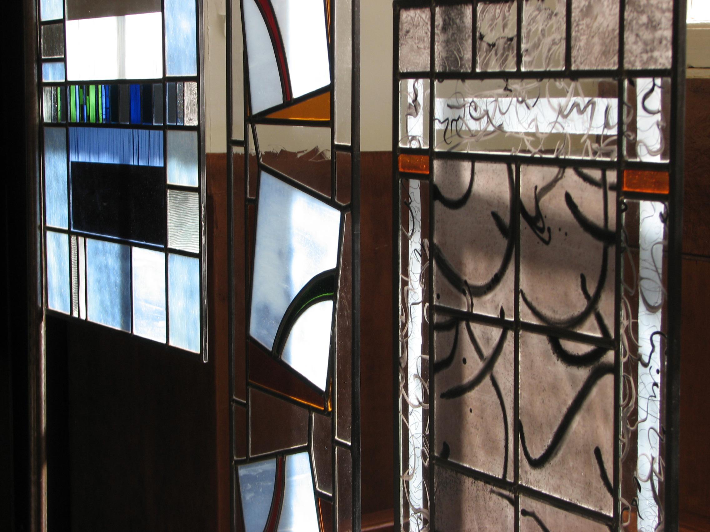 vitraux suspendus