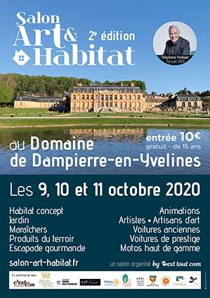 vitraux au Salon-Art-habitat-Domaind de Dampierre en yvelines